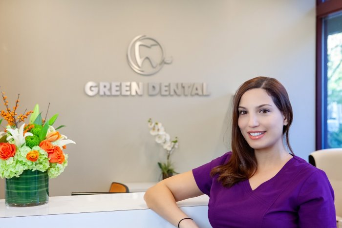 Green Dental Team Dental Hygienist Naya