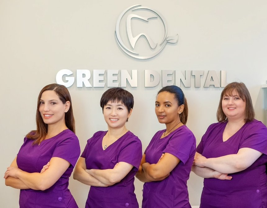 Green Dental Team Photo